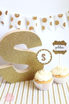 All That Glitters Golden Birthday Party