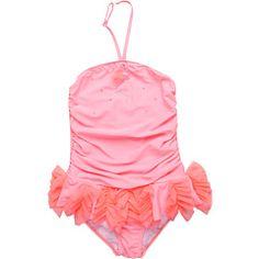 Kate Mack - Flamingo Flirt Skirted Swimsuit
