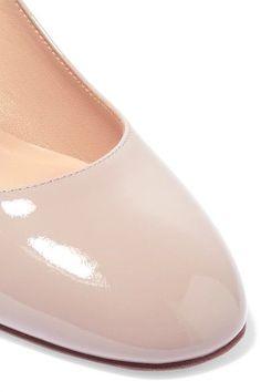 Valentino - Tango Patent-leather Pumps - Blush