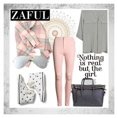 """""""Zaful 25"""" by lejlamoranjkic ❤ liked on Polyvore featuring PYRUS and Keds"""