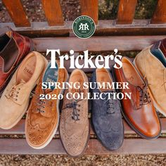 Check out our new arrivals! The Tricker's Spring Summer 2020 Collection is here. Shop online or at our Belfast store. Trickers Shoes, Boat Shoes, Men's Shoes, Brand Collection, Sperrys, Spring Summer, Footwear, Nice