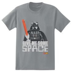 Star Wars Darth Vader T-Shirt - Give Me Some Space #lego #legostarwars #tees #empire