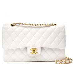 a963859c826d Labellov Chanel White Caviar Leather Double Flap Bag ○ Buy and Sell  Authentic Luxury