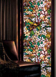 William Morris stained glass window #artsandcrafts #greenvillscrealestate…