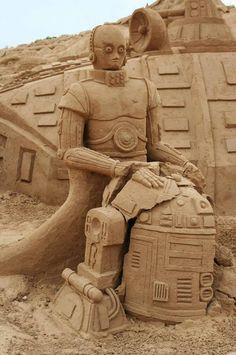 sand sculpture14 De fabuleuses sculptures de sables.