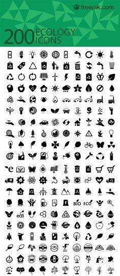200 Free Ecology Icons