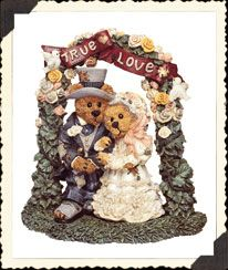 Our Wedding Cake Topper - Grenville & Beatrice...True Love