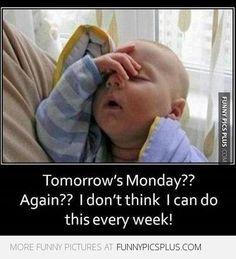 Monday again!!