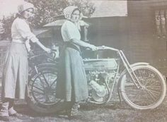 Vintage Motorcycle Girls 068 ~ Return of the Cafe Racers