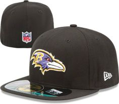 079044990 Baltimore Ravens Black New Era 2012-2013 Sideline 59FIFTY Fitted Hat by New  Era. Nfl CapsSports ...