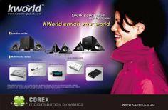 品牌形象 燈箱廣告  Client:KWORLD