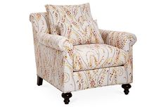 Emmet Club Chair, Pink Videira Now: $831.00 							Was: $1,259.00