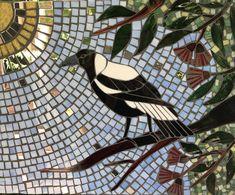 Mosaic magpie