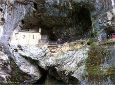 Covadonga Cave Shrine, Asturias Spain