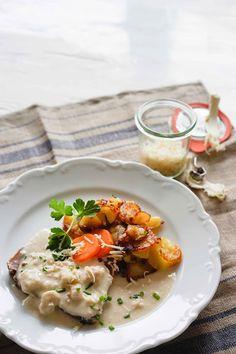 stuttgartcooking: Tafelspitz mit Semmelkren und Bratkartoffeln