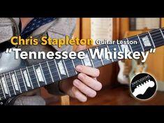 "Rhythm/Lead Guitar Lesson - Chris Stapleton ""Tennesee Whiskey"" - Chords, Tabs, Lyrics - YouTube"