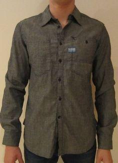 Kaufe meinen Artikel bei #Kleiderkreisel http://www.kleiderkreisel.de/herrenmode/hemden/88712332-g-star-hemd-langarmlig-gr-m-grau