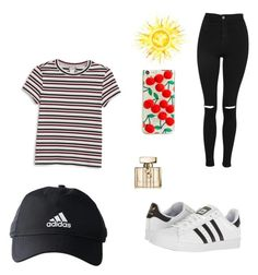 """Bag to school"" by patries32 on Polyvore featuring schoonheid, Gucci, Monki, adidas, Skinnydip en Topshop"