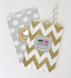 Personalized Wedding Goodie Bags (set of 12)