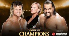 Bei Night of Champions wird Dolph Ziggler in einem SummerSlam Rückmatch auf Rusev treffen.