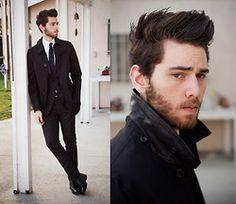 Coach Jacket, Suitsupply Suit, Florsheim Shoes -  Edward Honaker