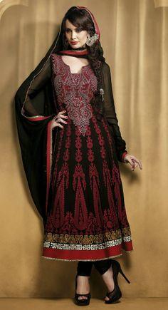 Sparkling Black Salwar Kameez