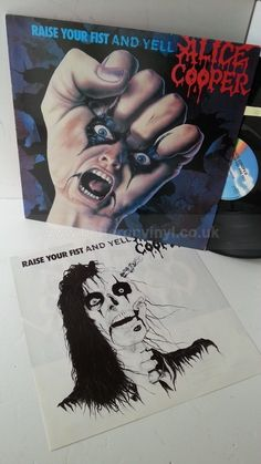ALICE COOPER raise your fist and yell, MCF 3392, track list insert - ROCK, PSYCH, PROG, POP, SHOE GAZING, BEAT Vinyl Record Shop, Vinyl Records, Alice Cooper, Psych, Track, Shoe, Runway, Shoemaking, Trucks