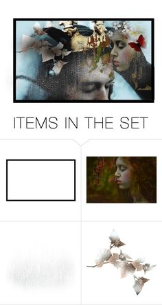 """""""My Suffering Heart"""" by giovanina-001 ❤ liked on Polyvore featuring art"""