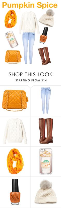 """""""Keeping Warm"""" by minnieskittles ❤ liked on Polyvore featuring Chanel, Glamorous, Diesel, Ariat, Casetify, OPI and SIJJL"""
