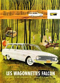 1960 Ford Falcon Station Wagons (Canadian Ad, Pg. 1)