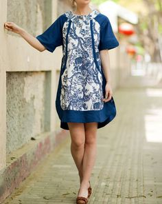 comfortable Linen Short sleeved shirt dress by MaLieb on Etsy, $69.00