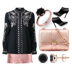 """""""Rose Gold Jewelry"""" by na-pan on Polyvore featuring Mode, Vilshenko, Auriya und Aspinal of London"""