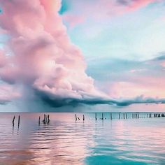 cotton candy clouds photo @areyouami