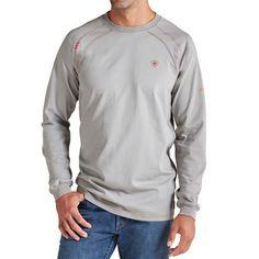 Men's Ariat Flame Resistant FR Crew Work Shirt