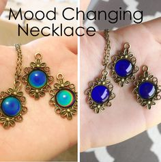 Take me back to the 90's - Check out these new Meccafox Mood Necklaces for only $8 now! meccafox.bigcartel.com