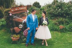 Chic vintage wedding dress with leather jacket coverup Geek Wedding, Wedding Trends, Quirky Wedding, Wedding Stuff, Wedding Ideas, Tea Length Wedding Dress, Wedding Gowns, Wedding Thank You Messages, Bridesmaid Dresses Uk