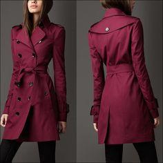 2 Manteau Bordeau, Manteau Printemps, Belle Robe, Mode Femme, Trench Femme, 4074751762a