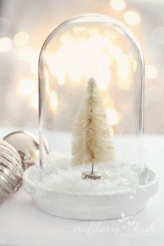 Craftberry Bush: Christmas cloche