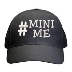 Hashtag Mini Me Cap Best Dad Gifts, Cool Gifts, Father And Son, Gifts For Father, Mini Me, Sons, Cap, Pairs, How To Make