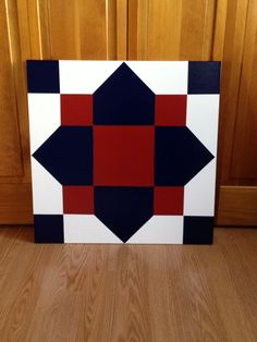 2X2 Barn Quilt I made & sold - donated to Casey & Marc's adoption fund