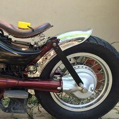 Royal Enfield fender on the Intruder vs400 / Bobber Inspiration | Bobbers & Custom Motorcycles
