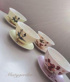 シノワズリ煎茶碗です。|ハンドメイド、手作り、手仕事品の通販・販売・購入ならCreema。