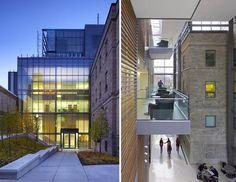 Queen's University Medical School Building -glass treatment