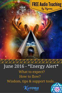 The June 2016 Astrology *ENERGY ALERT*. It's time to trust, adapt, dream the dream & shine! FREE audio teaching, light language tools & more! #June2016Astrology, #StarPriestess, #CelestialTemple