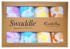 Pucktücher aus Musselin 4er-Pack - Große Musselin-Puckdecken von CuddleBug, 120 cm x 120 cm - Beste Musselindecken aus weicher Baumwolle - Bestes Geschenk für werdende Eltern - Ideal fürs Kinderbett - Für Mädchen oder Jung (Tier) CuddleBug http://www.amazon.de/dp/B014VOJNDA/ref=cm_sw_r_pi_dp_oqouwb1Y34EWS