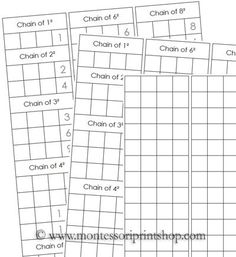 14 best montessori papers images on pinterest math calculus and