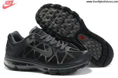 Best Gift Mens Nike Air Max 2011 Black Cool Grey Sneakers Lightweight Shoes