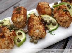 Prosciutto-Breaded Salmon Croquettes