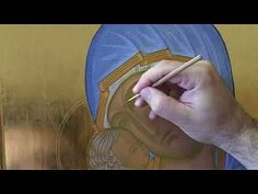 Theory of Highlights Byzantine Icons, Byzantine Art, Writing Icon, Face Icon, Painting Workshop, Orthodox Icons, Painting Videos, Painting Techniques, Highlights