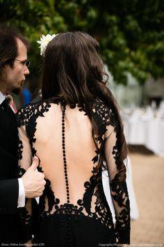 Elegant Soft Gothic Wedding Ideas - Page 29 of 41 - You and Big Day Twilight Wedding Dresses, Black Wedding Gowns, Lace Wedding, Dream Wedding, Geek Wedding, Wedding Ideas, Goth Wedding Dresses, Black Lace Gown, Dress Lace